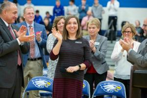 1000w 2019 KY Laura Cole standing ovation