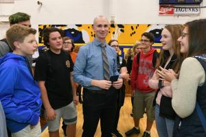 1000w Imperial 2017 Jordan McGaughey with Seckman students