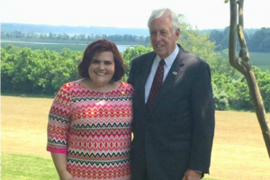 Angela Malone with Rep Hoyer 720x480 2