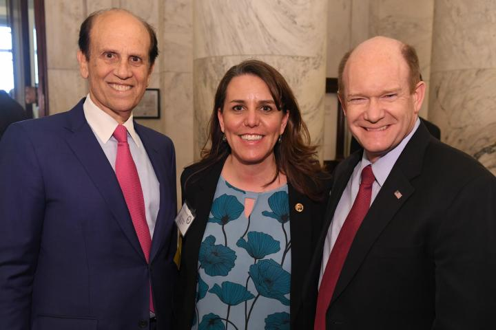 2018 CR Mike Milken Tami Lunsford Chris Coons DE
