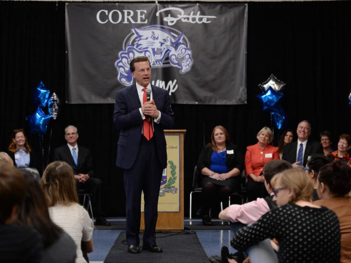 Lowell Milken addresses CORE Butte