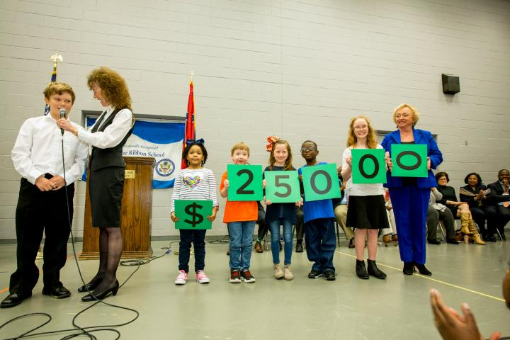 Madison Station students spell 25000