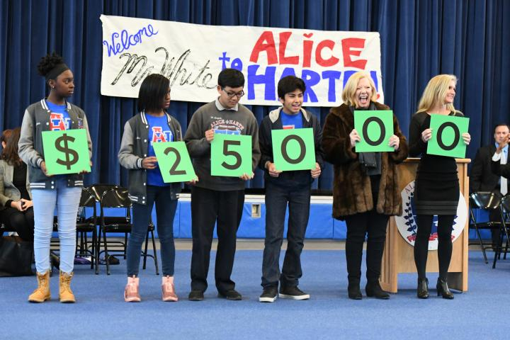 New Orleans 2017 Alice Harte students spell 25000