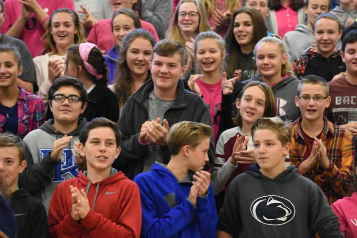 Winfield 2017 students restless with anticipation