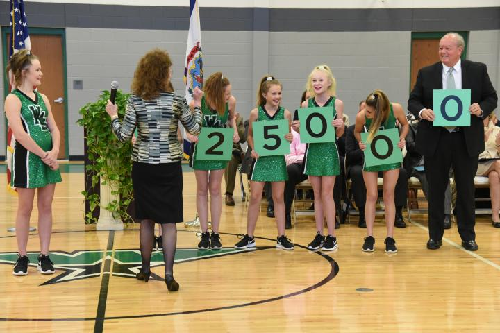 Winfield 2017 students spell 25000