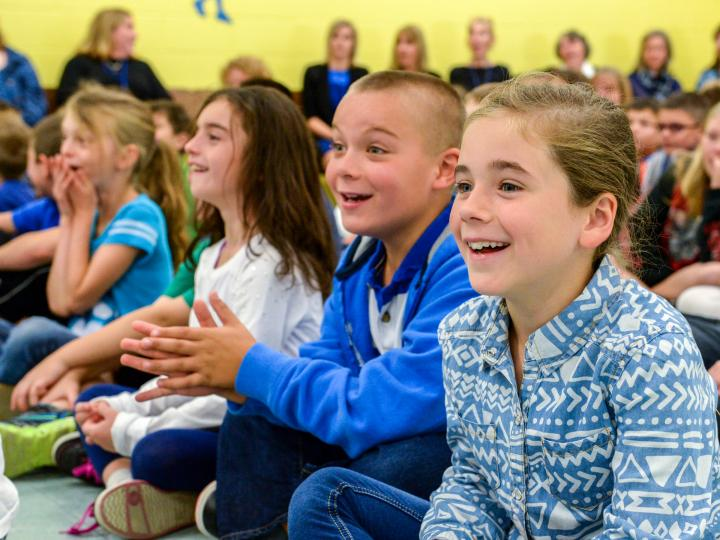 Erin Quinlan students react to 25000