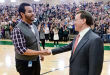 Jose Martinez and Lowell Milken