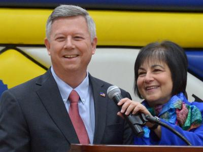 Kevin Witte Governor Dave Heineman First Lady Sally Ganem