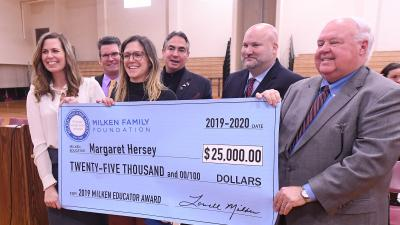 2019 MA Margaret Hersey check