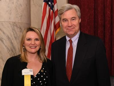 2018 CR Lauren Hopkins Sheldon Whitehouse RI