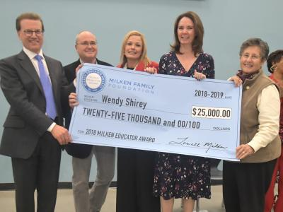 2018 Henderson Wendy Shirey check