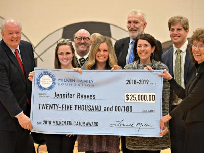 2018 Morgantown Jennifer Reaves dignitaries
