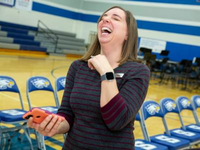 2019 KY Laura Cole laughing