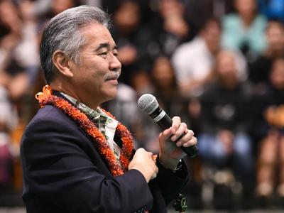 Aiea 2017 Governor David Ige suspense