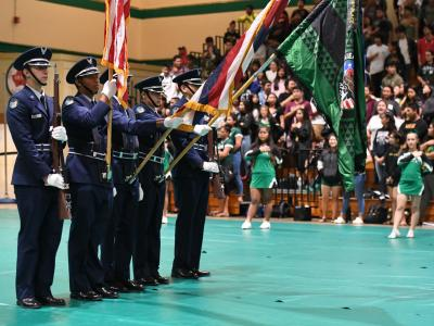 Aiea 2017 pledge of allegiance