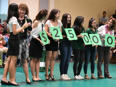 Aiea 2017 students spell 25000