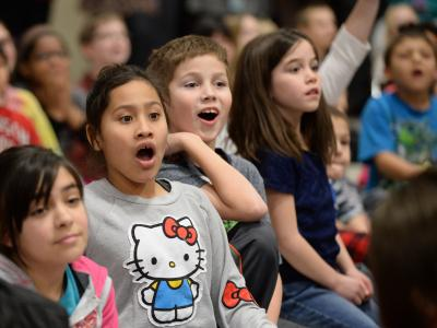Amy Stanislowski students wowed