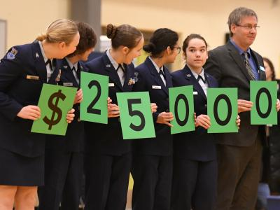 Anchorage 2017 students spell 25000