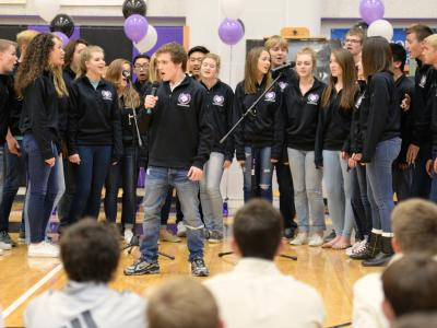 Blue Valley NW HS chamber singers
