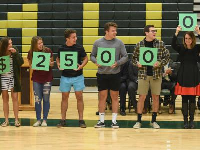 Brick 2017 students spell 25000