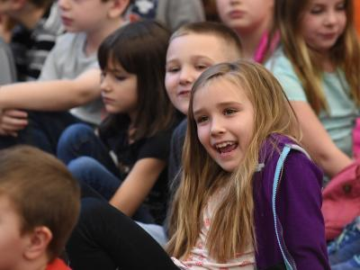 Cundiff Elementary students excited