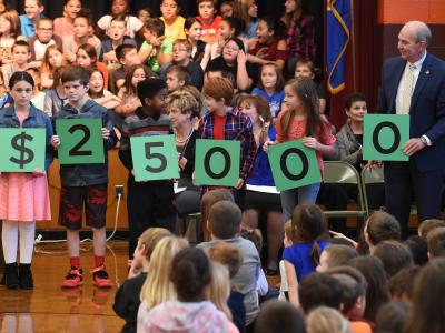 Cundiff students spell 25000