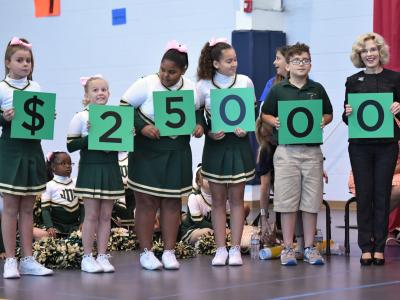 Davies students spell award amount