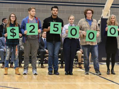 Edmond 2017 students spell 25000