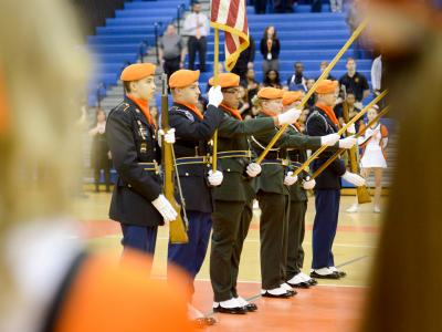 Elizabeth Galinis Hayfield Color Guard