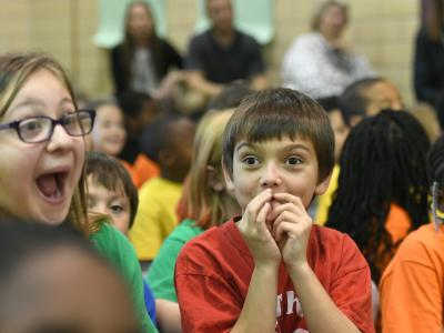 Havre de Grace students anxious to hear