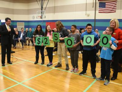Holt 2017 students spell 25000