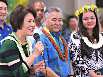 Honolulu 2018 First Lady congratulations