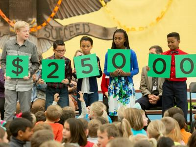 Horizon students spell 25000