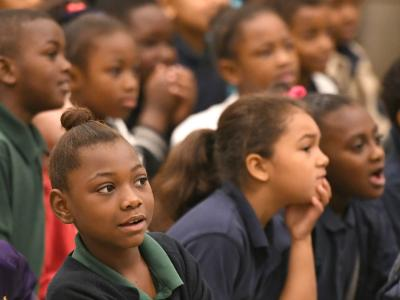 Jeanerette students eager to hear