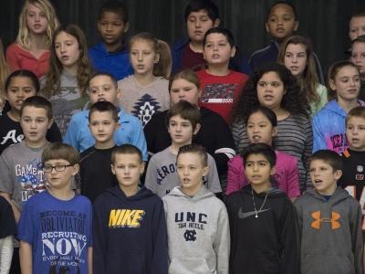 Jones Intermediate chorus