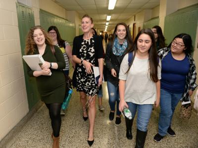 Lauren Jensen heads back to classroom