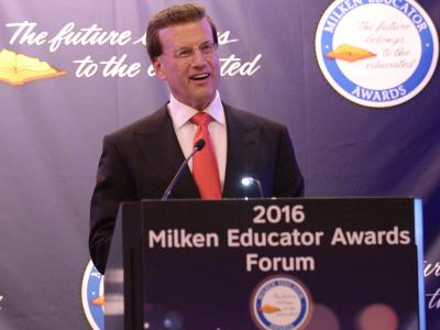 Lowell Milken at MEA Forum
