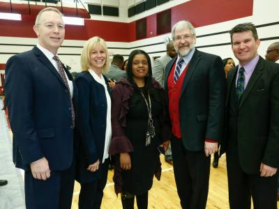 Maple Heights 2017 Maria Rodgers dignitaries
