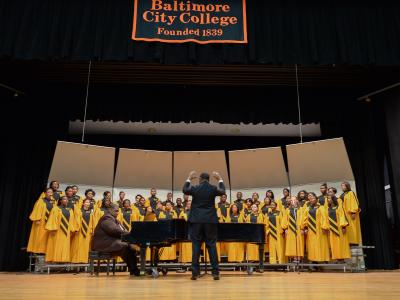 Mark Miazga Baltimore City College school choir