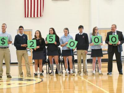 Newark Charter 2017 students spell 25000