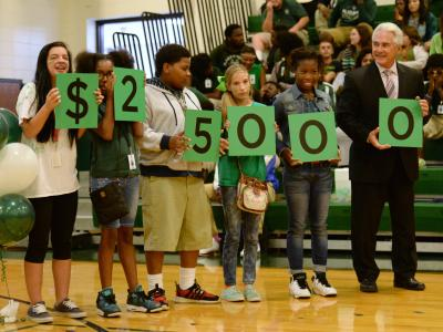 Plaquemine HS students 25K