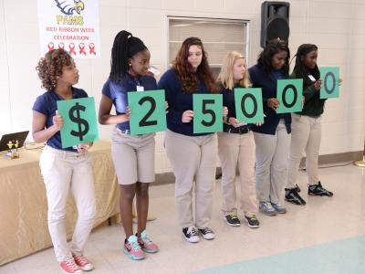 Port Allen students spell 25K award