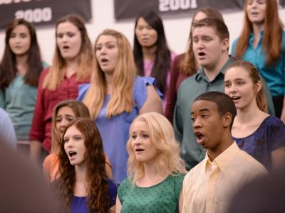 Red Mountain HS choir
