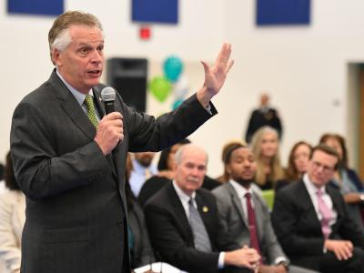 Richmond 2017 Terry McAuliffe addresses assembly