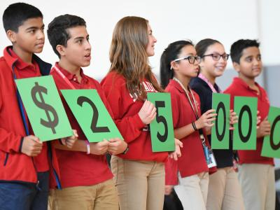 Secaucus 2017 students spell 25000