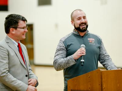 South Sioux City 2017 Jon Pickinpaugh acceptance speech