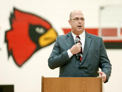 South Sioux City 2017 superintendent Todd Strom
