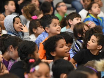 Suisun Elementary students eager to hear