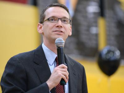 Texas education commissioner Mike Morath