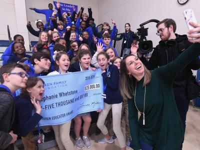 West Feliciana 2018 Stephanie Whetstone students selfie
